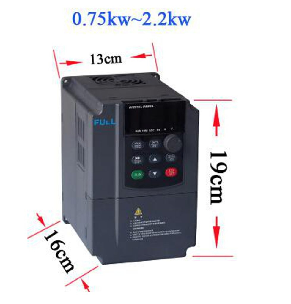 Full 15 Kw Frequency Converter Of A Series